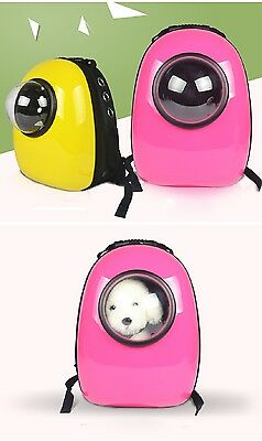 Innovative Bubble Pet Dog Cat Carriers Travel Outdoor Backpack Capsule Bag Sling