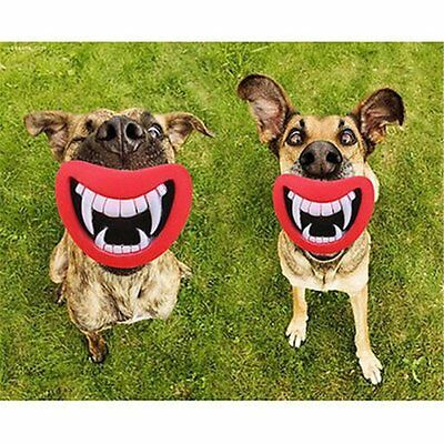 Puppy Dog Toys Big Red Lip Rubber Toy Dog Toy Lips for Pet Dog Sound Squeaky Toy