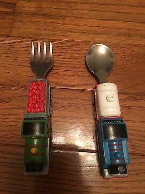 Thomas Tank Engine Spoon Fork Child's Set Percy Learning Curve Stainless 2006