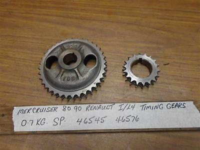 MerCruiser 80 90 Renault I/L4 Camshaft Crankshaft Timing Gear Set 1966-1972