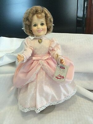 Vintage 1982 Shirley Temple Doll by Ideal Beautiful Pink and White Dress