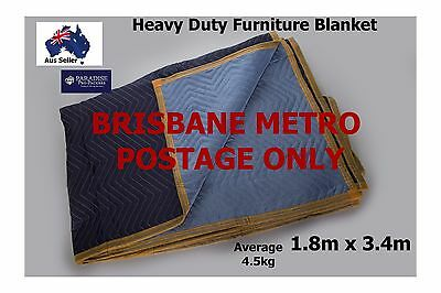 Furniture Moving Storage Removalist Blanket/Pad Heavy Duty Free Brisbane Postage