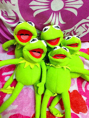 The Muppets Kermit The Frog Baby Soft Plush Stuffed Toy 7""