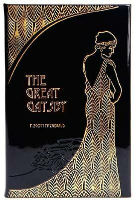 The Great Gatsby ~ F Scott Fitzgerald ~ Gift Boxed Leather Bound Book ~ Gorgeous