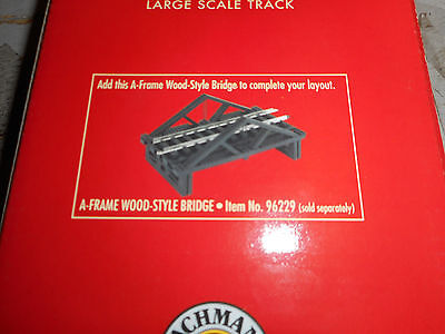 Bachmann  G Scale Track A Frame Wood Style Bridge