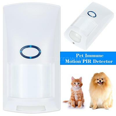 Wireless Outdoor Motion Sensor Alarm PIR Detector Pet Immune 150M 433MHZ TT L1V3