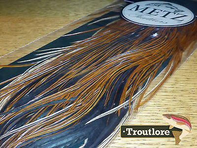 Metz Brown Saddle #2 For Dry & Wet Hackle - New Fly Tying Feathers