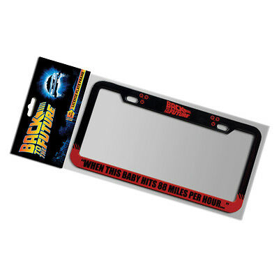 Back To The Future - Metal 88 MPH License Plate Frame