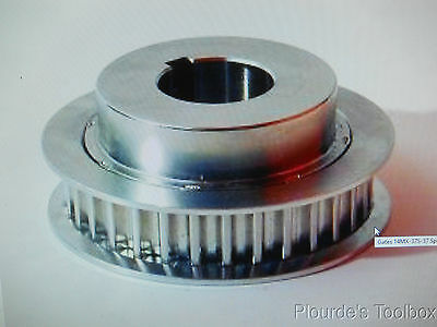 New Gates Poly Chain GT2 Sprocket 14MX-37S-37, 14mm Pitch, 37 Grooves, 37mm Wide