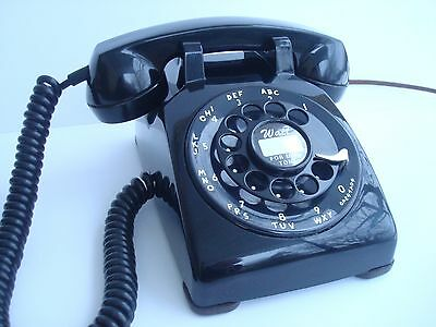 Antique original 1957 Western Electric telephone model 500  Fully restored