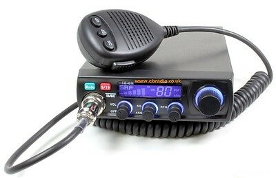 "Team TS-6M CB Radio starter kit Turbo 7"" mag-mount and Mini Springer aerial"