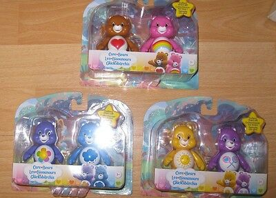 Care Bears Figures - Articulated Figures - Wave 1 - 3 To Choose From - New Packs