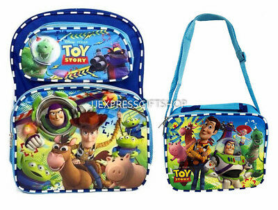 "New Pokemon  16"" Boy Large   Backpack With Detachable Pokeball  Lunch Bag"