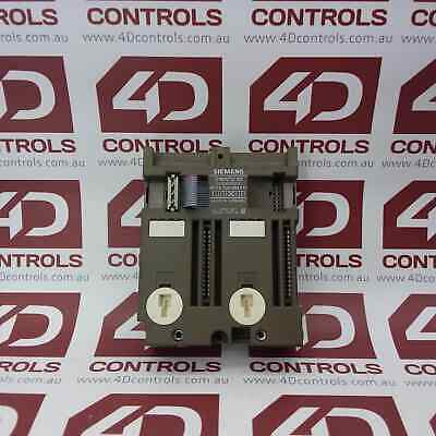 Siemens 6ES5 700-8MA11 Simatic S5 Bus Module Screw Connection - Used
