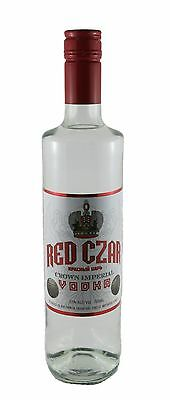 1 x 700ml Red Czar Crown Imperial Vodka