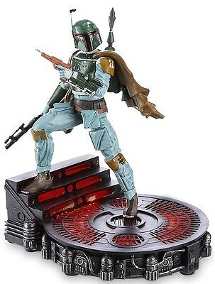 Disney Store Limited Edition Boba Fett Figure Statue