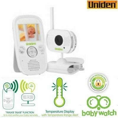 UNIDEN 2.3inch LCD Baby Watch Wireless Monitor with Walkie Talkie function