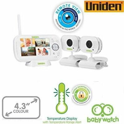 UNIDEN 4.3inch LCD baby Watch Wireless Monitor with walkie Talkie function