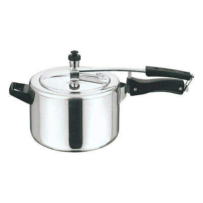 Vinod Kraft 5L Aluminium Pressure Cooker - with Lid Cookware Induction Friendly