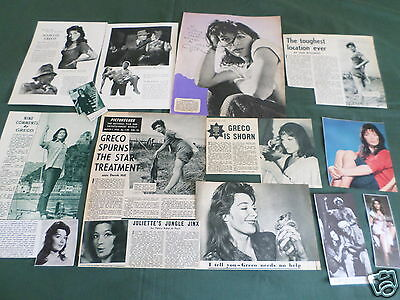 Juliette Greco - Film Star - Clippings /cuttings Pack