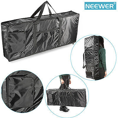 Neewer Portable 61-Key Keyboard Durable and Waterproof Nylon Gig Bag