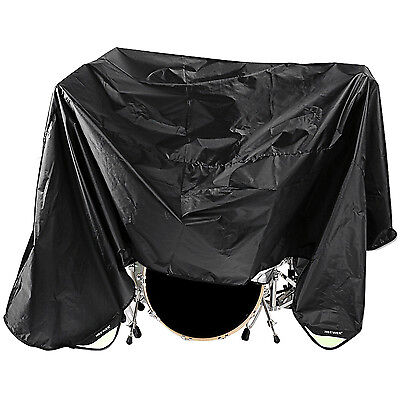 Neewer Black 80 x 108 Inches Drum Set Dust Cover FX#18