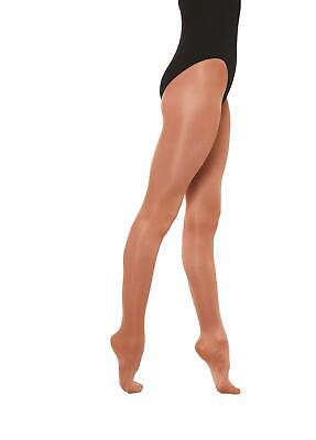 Ladies Womens Silky Shimmer Dance Tights Full Foot or Stirrup Foot Size S-XL
