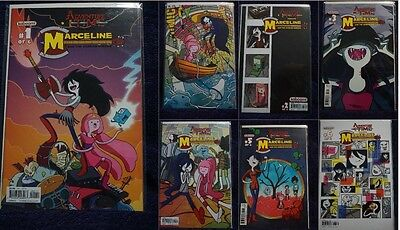 Adventure Time Marceline and the Scream Queens Set 1st Printing + #1 SDCC Boom!