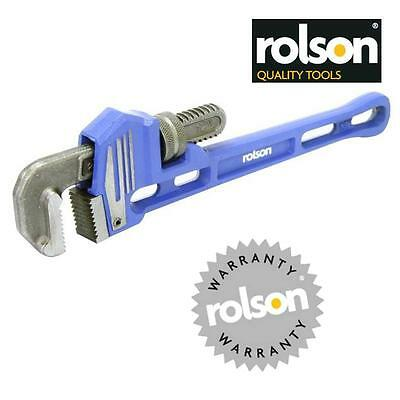 "ROLSON 300mm 12"" Pipe Wrench 55 mm Jaw Capacity Stilson style wrench    GB2"