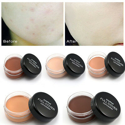 Women's Natural Concealer Foundation Full Cover Cream Beauty Makeup 5 Colours