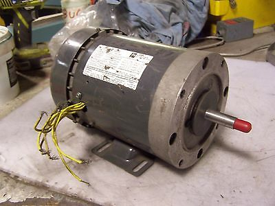 doerr emerson electric lr22132 motor 1 3hp 1ph 3450 2850rpm new emerson 1 1 2 hp electric motor 208 220 440 vac