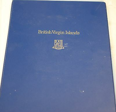1973 British Virgin Islands First Day Cover and 6 Coin Gem Proof Set in Folder
