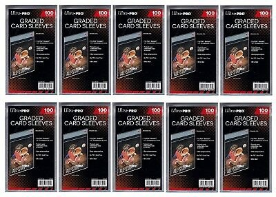 Ultra Pro Resealable Graded Card Sleeves 1000 count lot Brand New