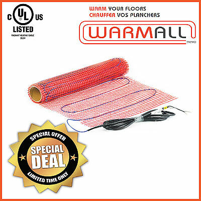 Electric Tile Floor Heating Mat Radiant All Sizes Mesh Only