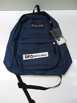 NEW JANSPORT SUPERBREAK BACKPACK Back to School Back Pack Navy Blue
