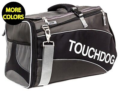 Touchdog Glide Airline Approved Water-Resistant Travel Pet Dog Carrier Bag