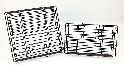 Ronco Showtime Rotisserie BBQ 2 Replacement Baskets 4000 5000