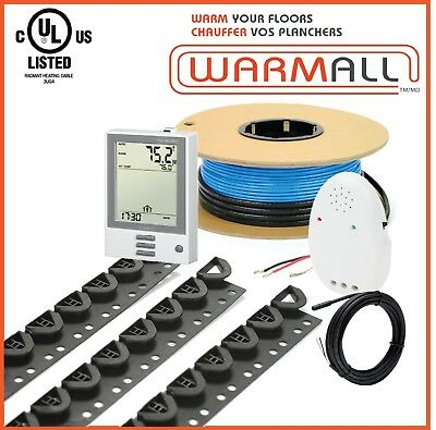 120V Electrical Radiant Floor Warming Heating Cable System All Sizes