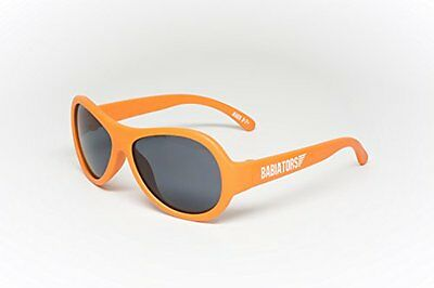 NEW Babiators Aviator Style Sunglasses Junior Babiators Orange 0 3 Years