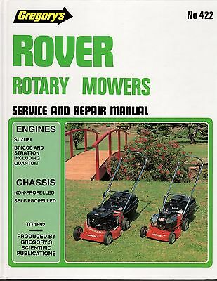 Rover Rotary Mowers Service & Repair Manual by Gregorys - see description