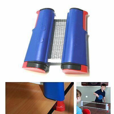 Portable Retractable Table Tennis Net Rack Replacement Ping Pong Net Kit