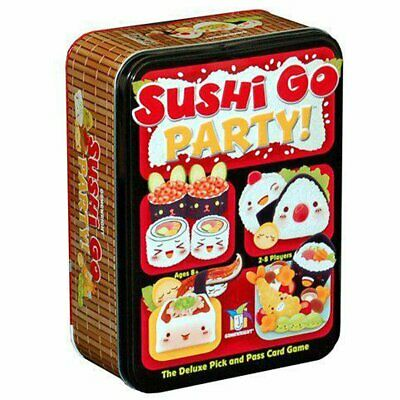 Sushi Go Party New Version of Sushi Go Card Game