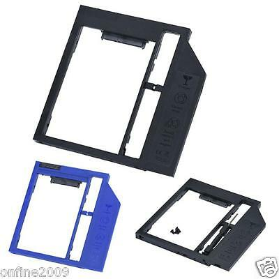 9mm SATA Second HDD SSD Hard Drive Caddy for Laptop CD/DVD-ROM Optical Bay