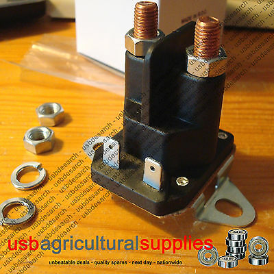 STARTER SOLENOID for COUNTAX & WESTWOOD TRACTOR RIDE ON LAWNMOWER - NEXT DAY