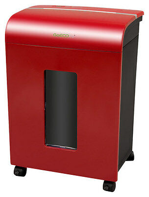 GoECOlife - Limited Edition 12-Sheet Microcut Shredder - Red
