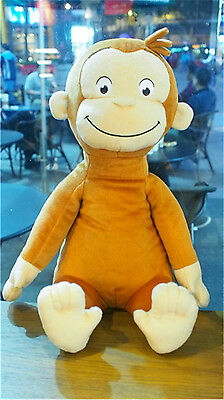 """TV Show Monkey * NEW 12"""" CURIOUS GEORGE Soft Plush Doll Toy"""