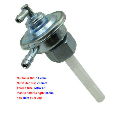 Fuel Tank Petcock Switch Valve For 50cc 125cc 150cc 250cc Scooter Moped Go Kart