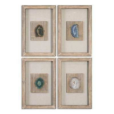 Uttermost 14499 Agate Stone, Set Of 4