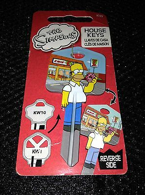 The Simpons House key KW-SM1 Homer and The donut Brand new