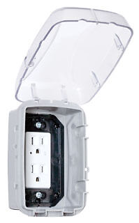 Intermatic WP3100C Plastic In-Use Weatherproof Receptacle Cover